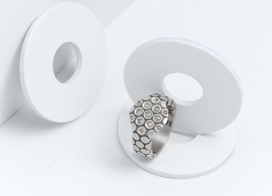 Circular ring absolut design
