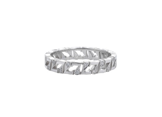 7 Wedding Ring with diamonds