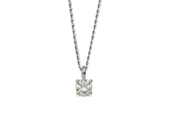 Brilliant-cut Pendant 0.28ct