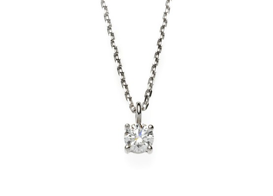 Brilliant-cut Pendant 0.38ct