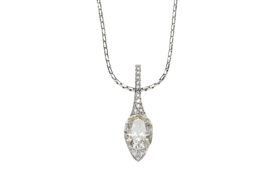 Oval-cut Pendant 1.08ct