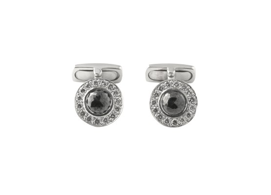Cufflinks black diamond