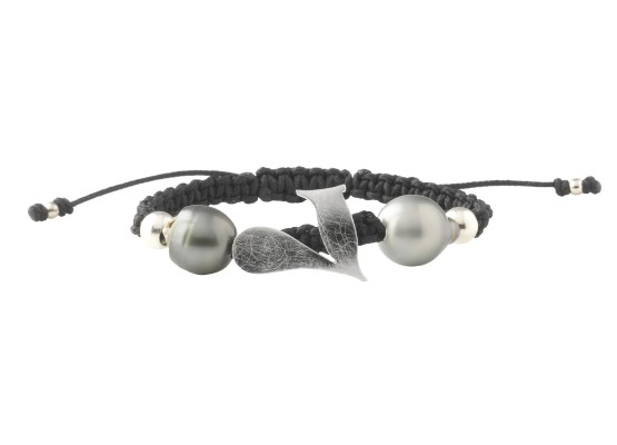SIE7E bracelet with pearls