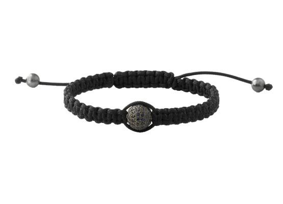 Sapphire ball bracelet