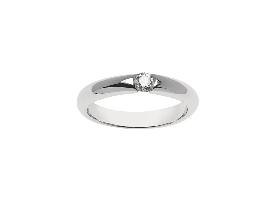 Brilliant-cut Solitaire 0.18ct
