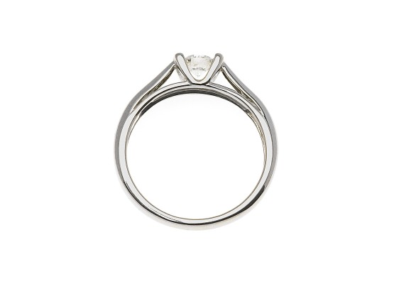 Brilliant-Cut Solitaire 0.20ct