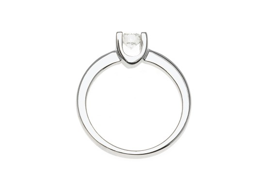 Brilliant-Cut Solitaire 0.39ct