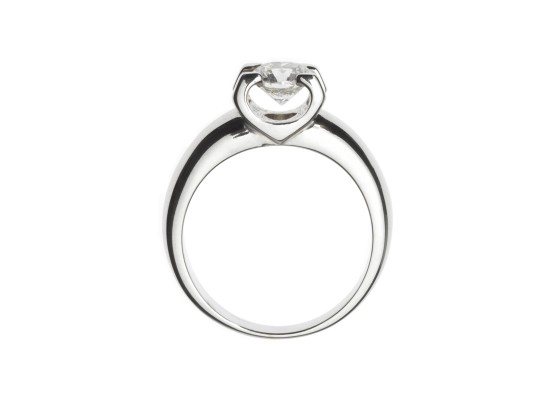 Brilliant-cut Solitaire 0.85ct