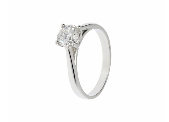 Brilliant-cut Solitaire 0.87ct