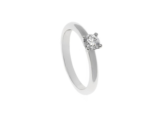 Brilliant-Cut Solitaire 0.30ct