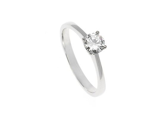 Brilliant-Cut Solitaire 0.43ct