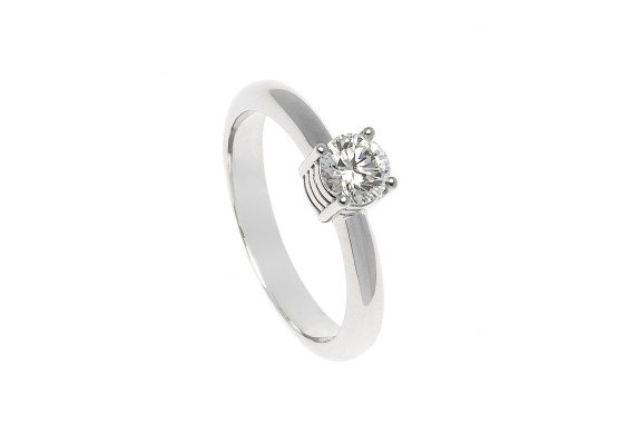 Brilliant-Cut Solitaire 0.51ct