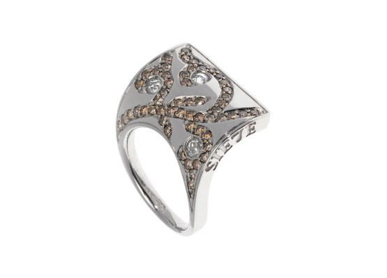 Sail Ring white gold & diamonds