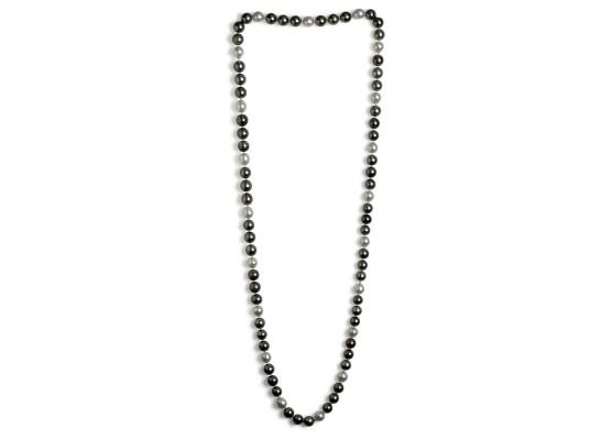 collar perlas combinado