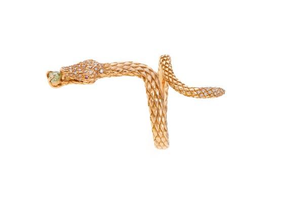 anillo, serpiente, colección minimal