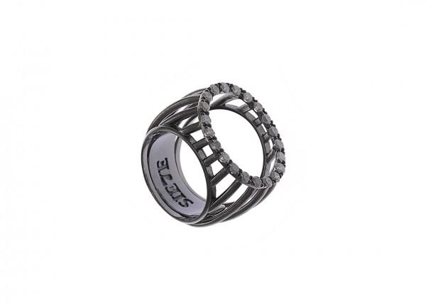 anillo, diamantes, joyas, joyería