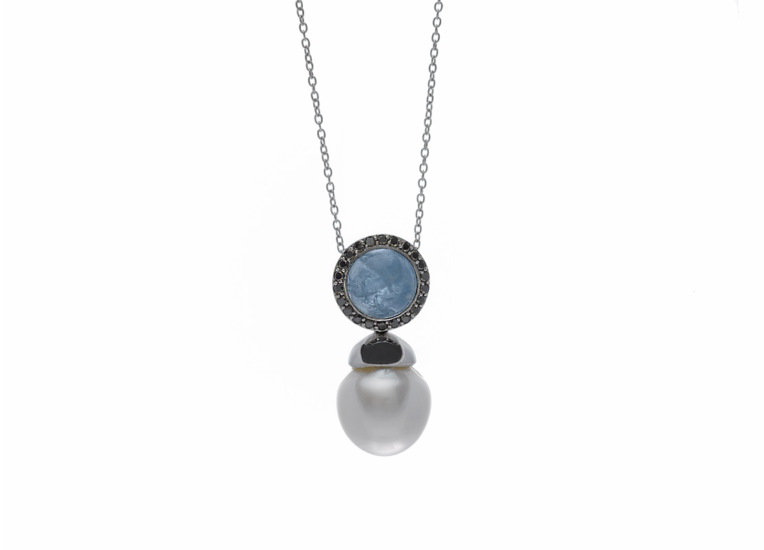 Aquamarine diamonds and australian pearl pendant sie7e alta aquamarine diamonds and australian pearl pendant essentials necklaces necklaces aloadofball Gallery