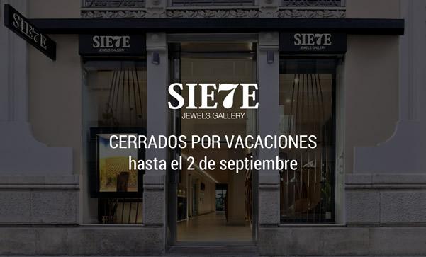 Cerrados por vacaciones hasta el 2 de Septiembre